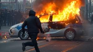 Mehr Gewalttaten durch Linksextremisten