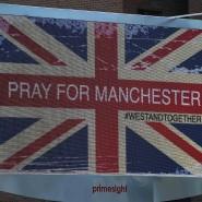 Solidarität mit Manchester: Großbritannien zeigt Flagge gegen den Terror