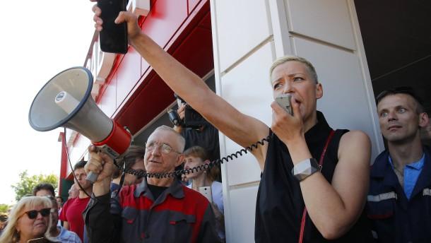 Marija Kolesnikowa angeblich festgenommen