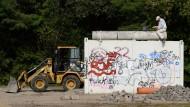 Mauerreste vom Abriss bedroht