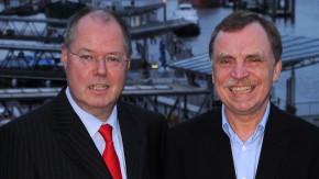 Peer Streinbrück und Hans-Roland Fäßler