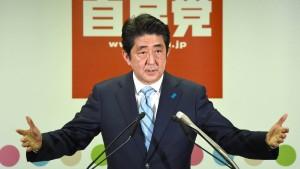 Abe will Japans Verfassung ändern