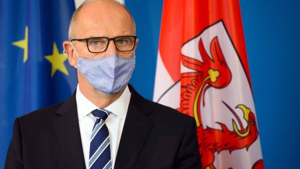 Brandenburgs Ministerpräsident mit Corona infiziert