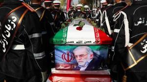 Provokation Richtung Teheran