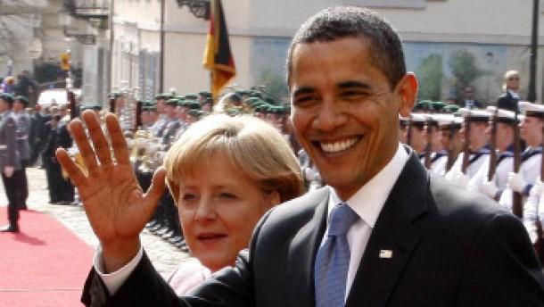 Obamas Reiseroute und Berliner Deutungen