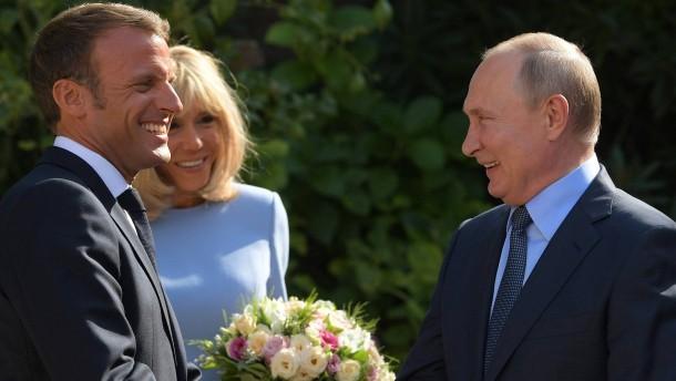 In Putin hineinversetzt