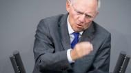 Schäuble bei schwarzer Null optimistisch