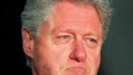 Momente der Rührung: Bill Clinton