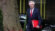 No way back: Brexit-Minister David Davis