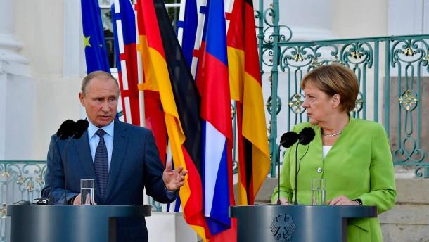 Merkel-Putin-Teffen: Ein Viererformat für Syrien?