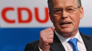 CDU-Chef Böge gibt Amt auf
