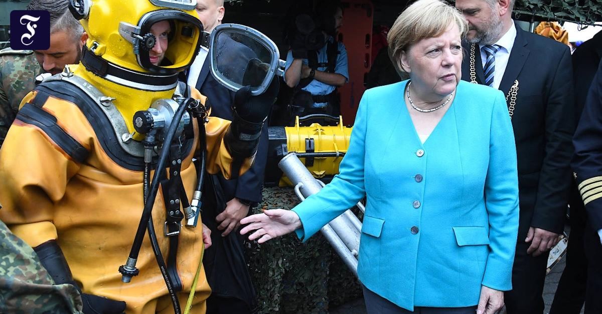 """Bundeswehr: Grüne kritisieren Merkels Eingeständnis als """"reichlich spät"""""""
