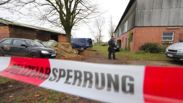 Verdächtiger im Pferdestall-Mord festgenommen