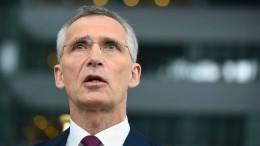 Stoltenberg fordert Moskau zur Einhaltung des INF-Vertrags auf