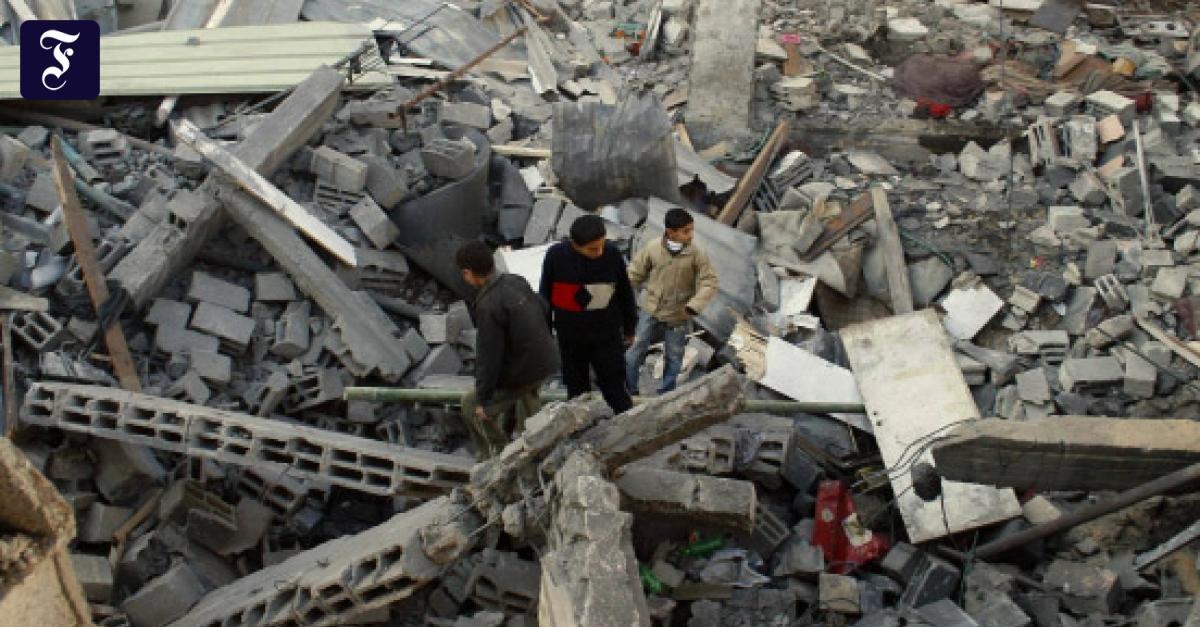 Konflikt im Gazastreifen: Totaler Krieg verboten - Ausland ...