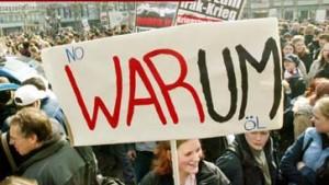 Weltweit Demonstrationen gegen den Krieg
