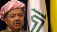 Massud Barzani ist seit über 10 Jahren Präsident der autonomen Region Kurdistan im Irak. Lieber aber wäre er Präsident eines kurdischen Staates.