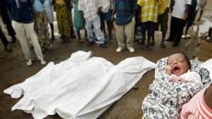 Blutige Kämpfe in Liberia - Bush entsendet Kriegsschiffe