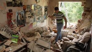 Tote bei Luftangriffen und Artilleriefeuer