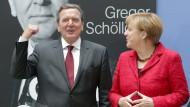 Merkel lobt Schröder, Schröder lobt Merkel