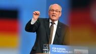 Mit wem es Volker Kauder beim Koalitionspartner zu tun bekommt, ist noch völlig offen