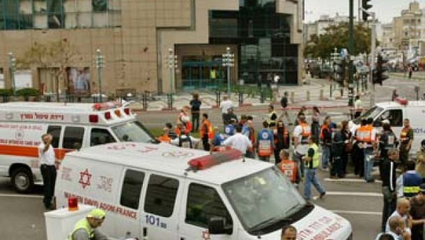 Sechs Tote bei Anschlag in Netanja