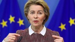 Von der Leyen fürchtet um Zusammenhalt der EU