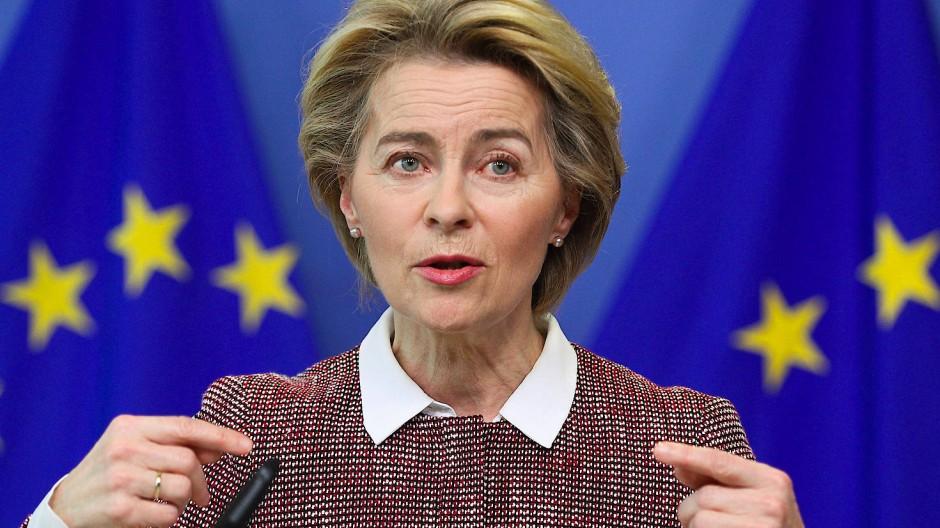 Wir haben anfangs in den Abgrund geschaut, sagt Ursula von der Leyen, Präsidentin der Europäischen Kommission.