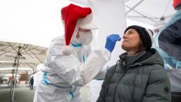 Was über die Dynamik der Pandemie an Weihnachten bekannt ist