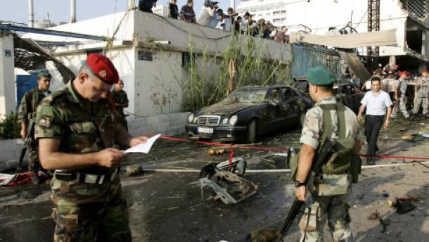 Anti-syrischer Politiker bei Anschlag getötet