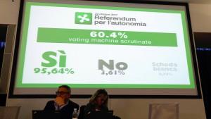 """""""Si"""" für mehr Autonomie"""
