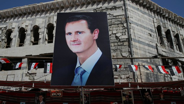 Letzte Hoffnung Assad