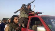 Talibankämpfer am 16. Juni im Distrikt Surkhroad, Provinz Nangarhar.
