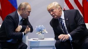 Trump lehnte Treffen mit Putin im Wahlkampf nicht kategorisch ab