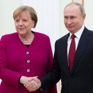Gesprächsfaden nie abgerissen: Angela Merkel und Wladimir Putin