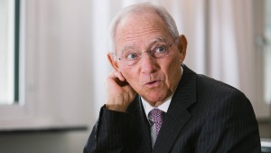 Schäuble zum Bundestagspräsidenten gewählt