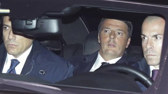 Renzi macht ernst mit Rücktritt