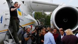 Russland und Ukraine tauschen Gefangene aus