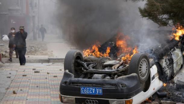 Aufstand der Tibeter