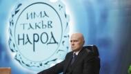 Der Entertainer und populistische Politiker Slawi Trifonow in einer Aufnahme vom 23. November 2020