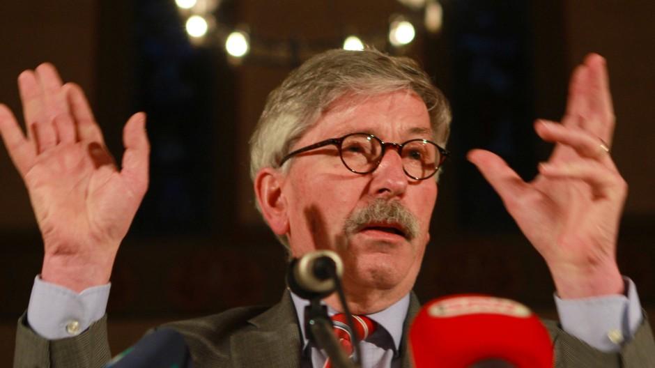 Schmerzhafte Trennung: Thilo Sarrazin will die SPD nicht verlassen.