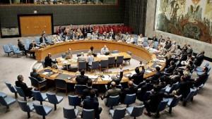 Der Sicherheitsrat am Zug
