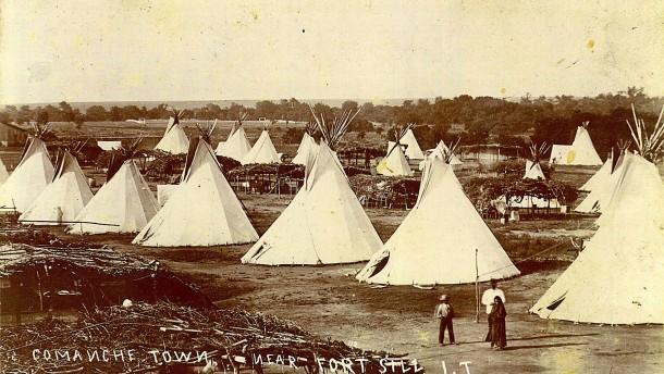 Hälfte des Bundesstaates Oklahoma ist Indianer-Reservat