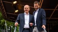 Klingbeil im Wahlkampf: Für den SPD-Generalsekretär wird es ganz eng