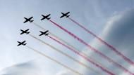 Flug-Show unter türkischer Beteiligung beim Nato-Gipfel in Warschau im Juli