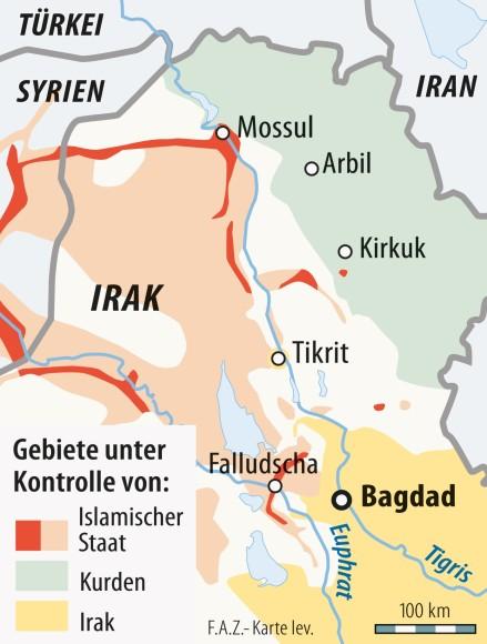 Syrien Irak Karte.Bilderstrecke Zu Islamischer Staat Kämpfer Verschleppen Menschen In