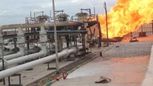 Gaspipeline auf dem Sinai explodiert