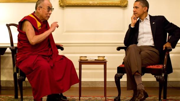Obama empfängt Dalai Lama trotz Protests aus Peking