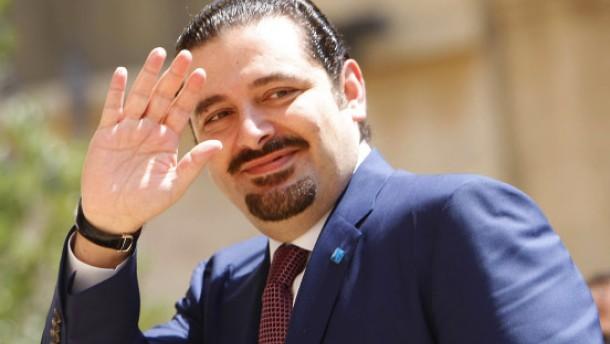 Hariri reicht Rücktritt ein