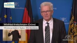 Kretschmann will schrittweise Schul- und Kitaöffnungen ab 1. Februar